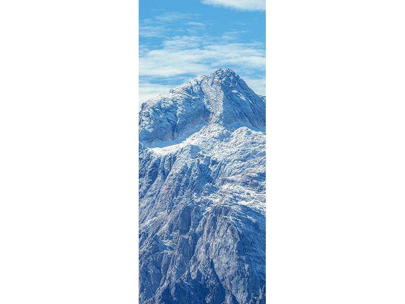Türtapete Friedliche Bergstimmung