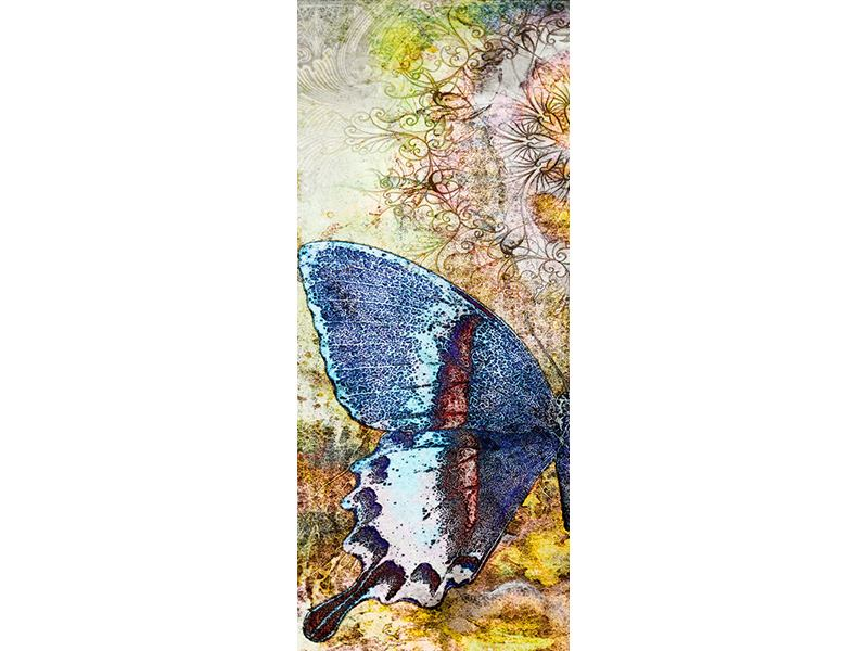Türtapete Ornament-Schmetterling