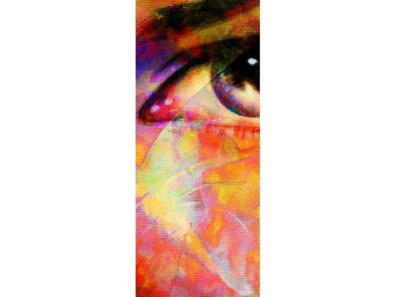 Türtapete Das Auge