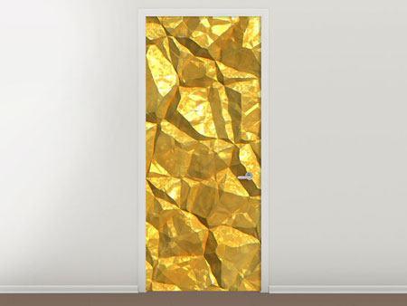 Türtapete Gold