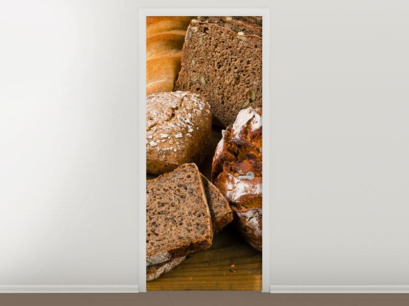 Türtapete Brotarten