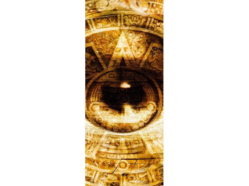 Türtapete Fraktales Auge