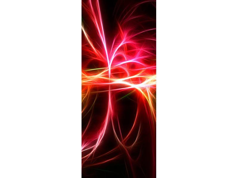 Türtapete Fraktales Lichtspektakel