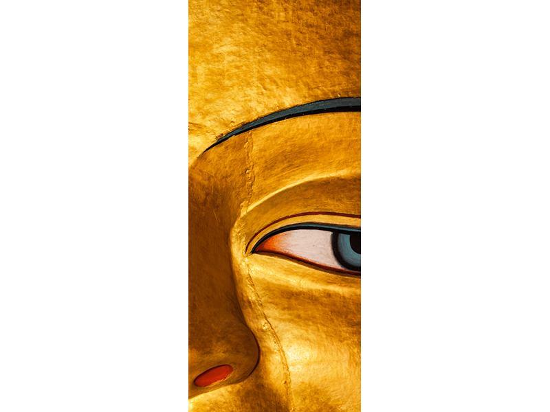 Türtapete Die Augen eines Buddhas