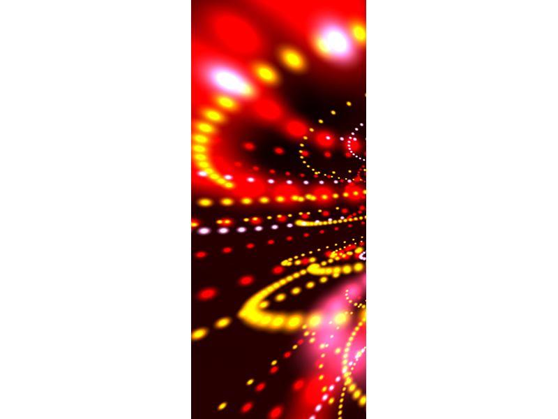 Türtapete Abstraktes Lichtspiel