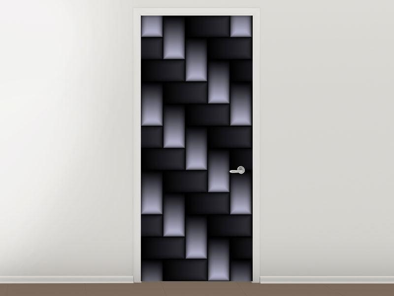 Türtapete 3D-Treppen