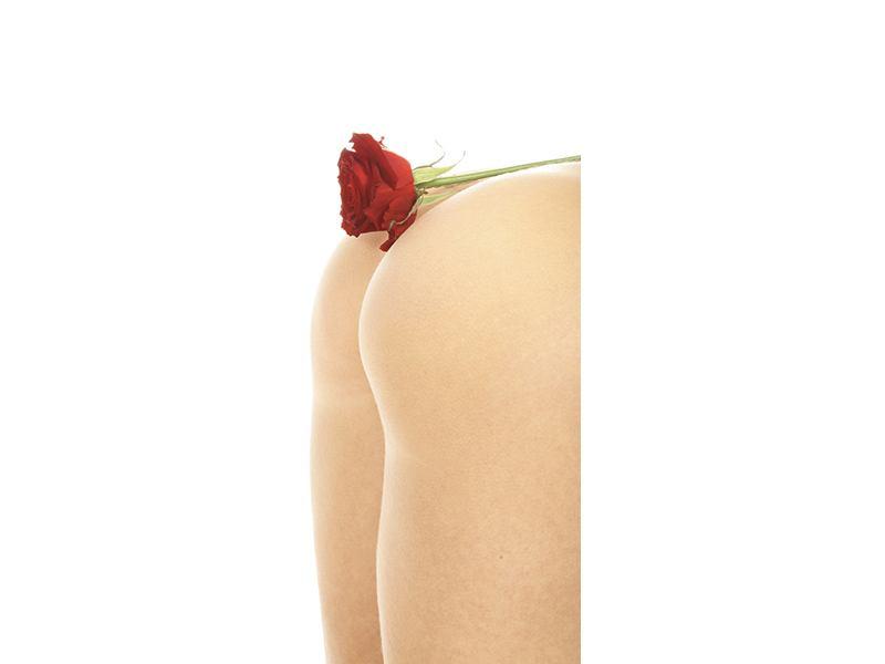 Türtapete Verführerische Rose