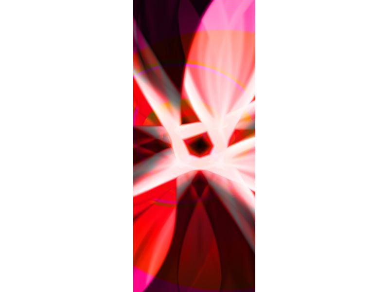 Türtapete Abstrakt Flower Power