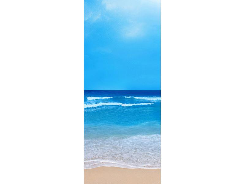 Türtapete Sanfte Strandwellen