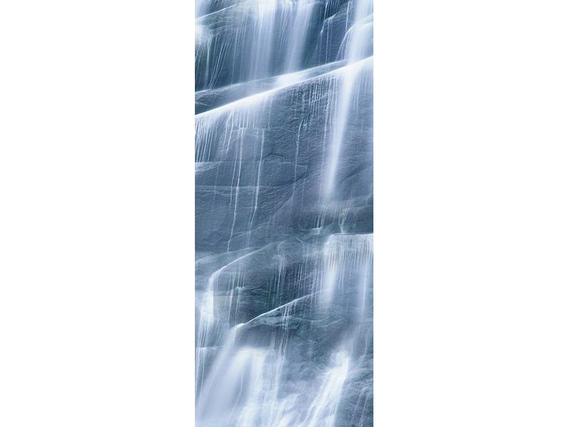 Türtapete Grossartiger Wasserfall