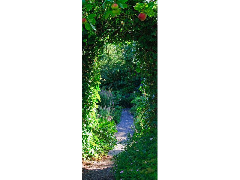 Türtapete Im Paradiesgarten