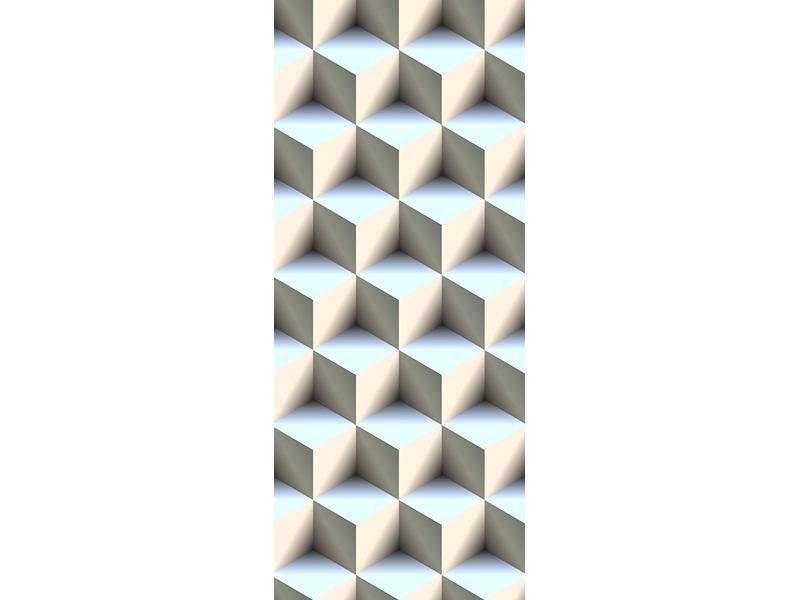 Türtapete 3D-Polytop