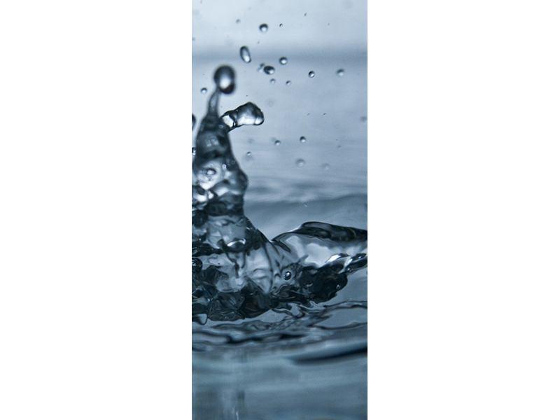Türtapete Wassertropfen