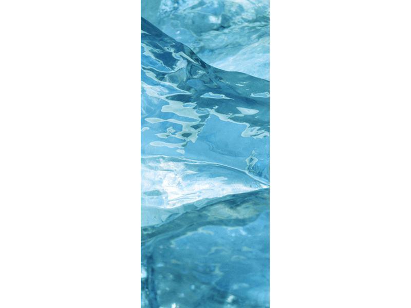 Türtapete Cooler Eislook