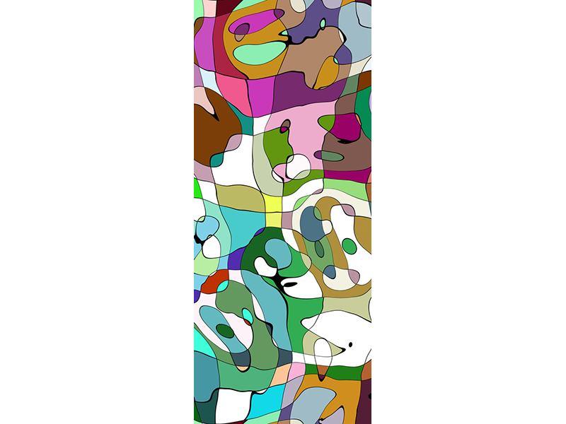 Türtapete Kubistisches Gemälde