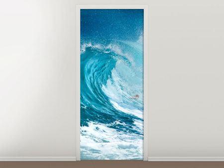 Türtapete Die perfekte Welle