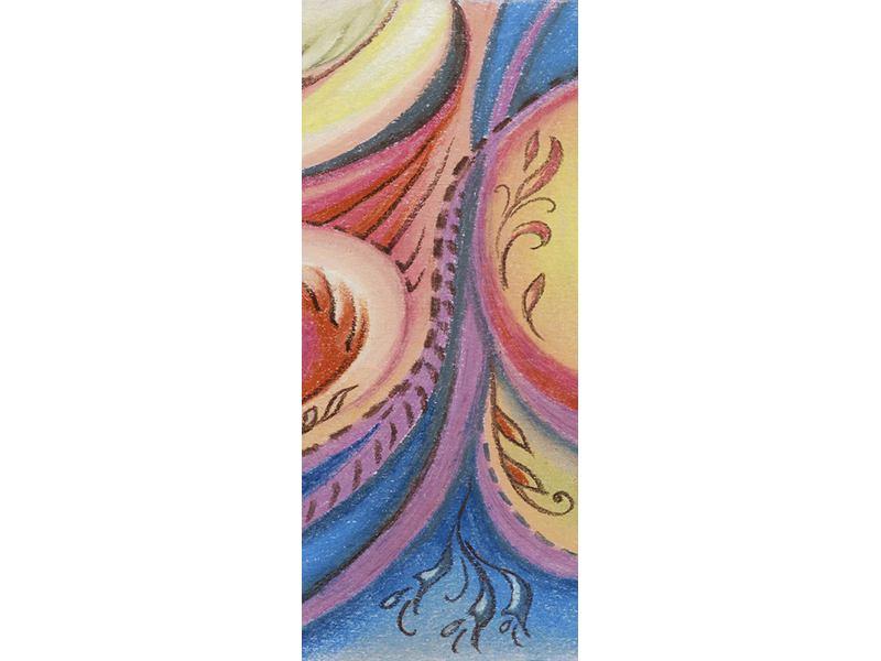 Türtapete Paisley-Malerei