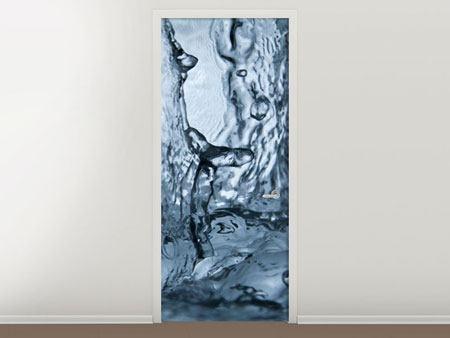Türtapete Wasserdynamik