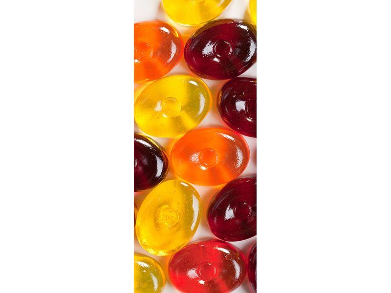 Türtapete Bonbons