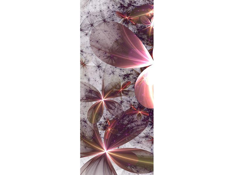 Türtapete Abstrakte Blumen