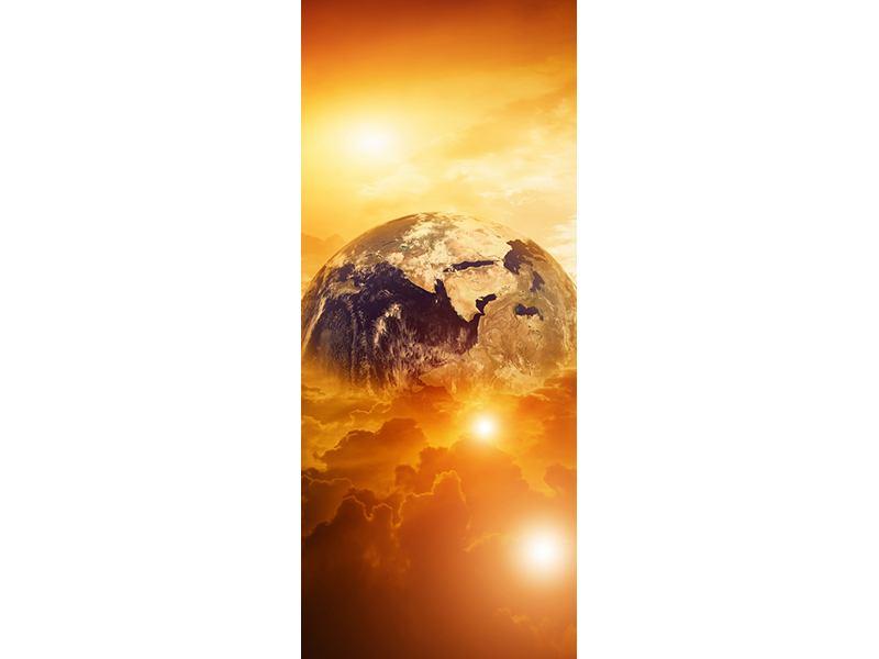 Türtapete Mystischer Planet Erde