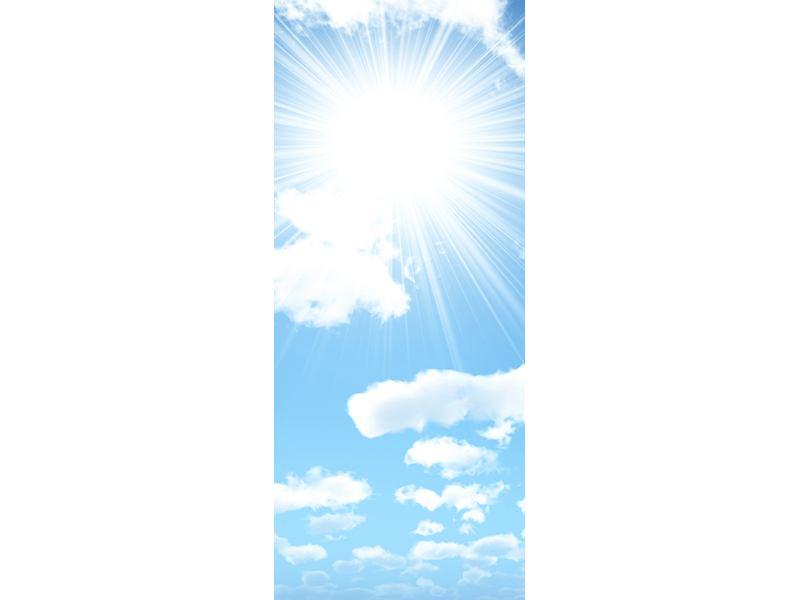 Türtapete Am Himmel