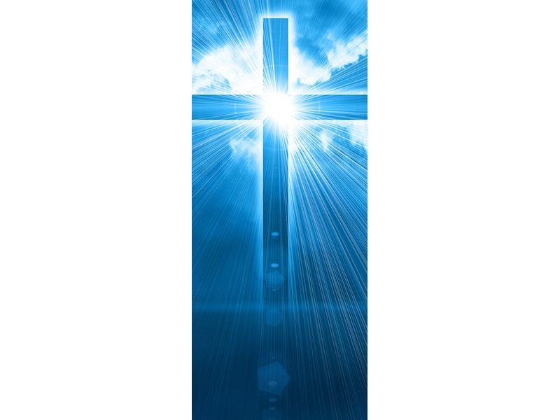Türtapete Das Kreuz