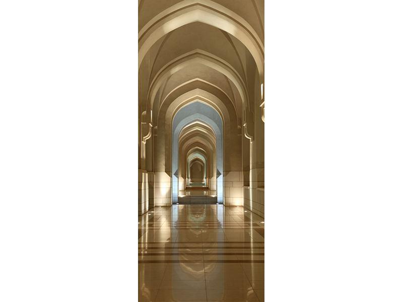Türtapete Königlicher Palast in Maskat