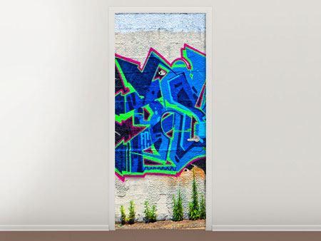 Türtapete Graffiti NYC