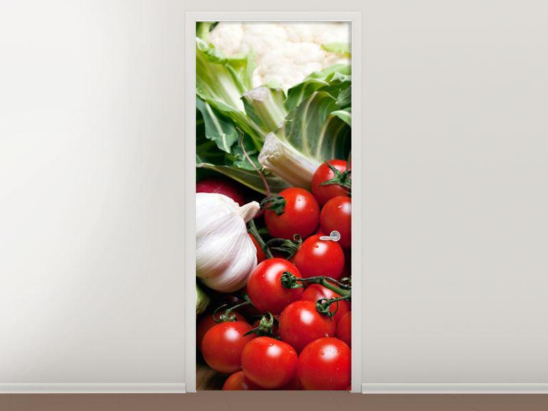 Türtapete Gemüse