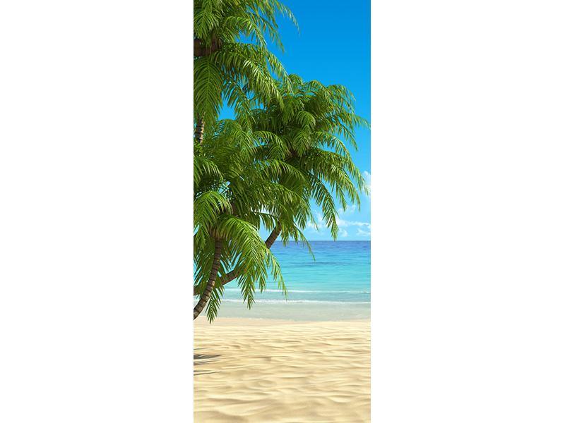 Türtapete Strandparadies