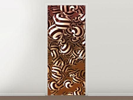 Türtapete Schokoladen-Bonbons