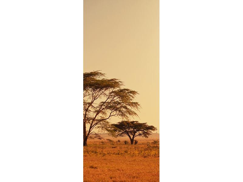 Türtapete Weideland in Kenia