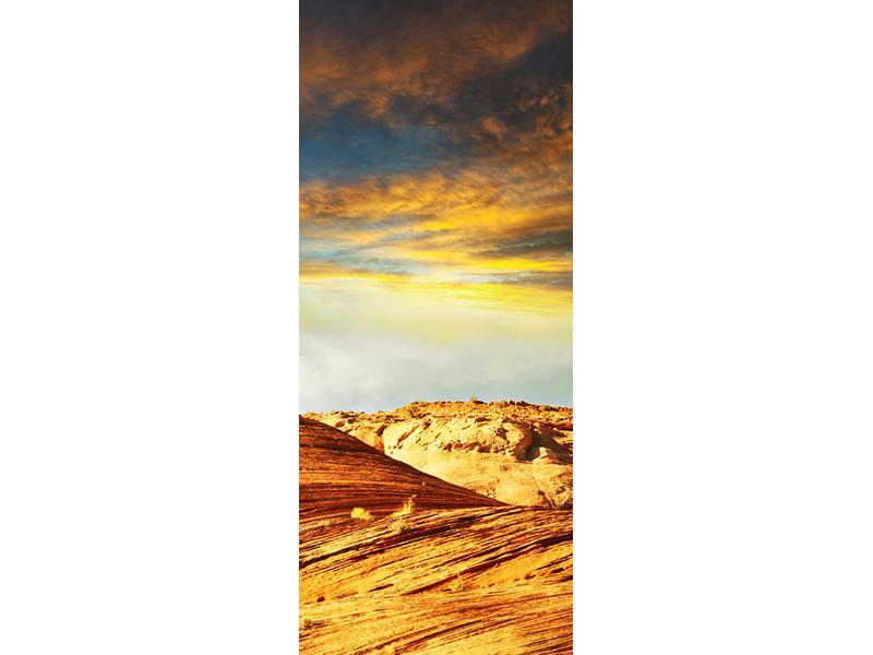 Türtapete Die Wüste