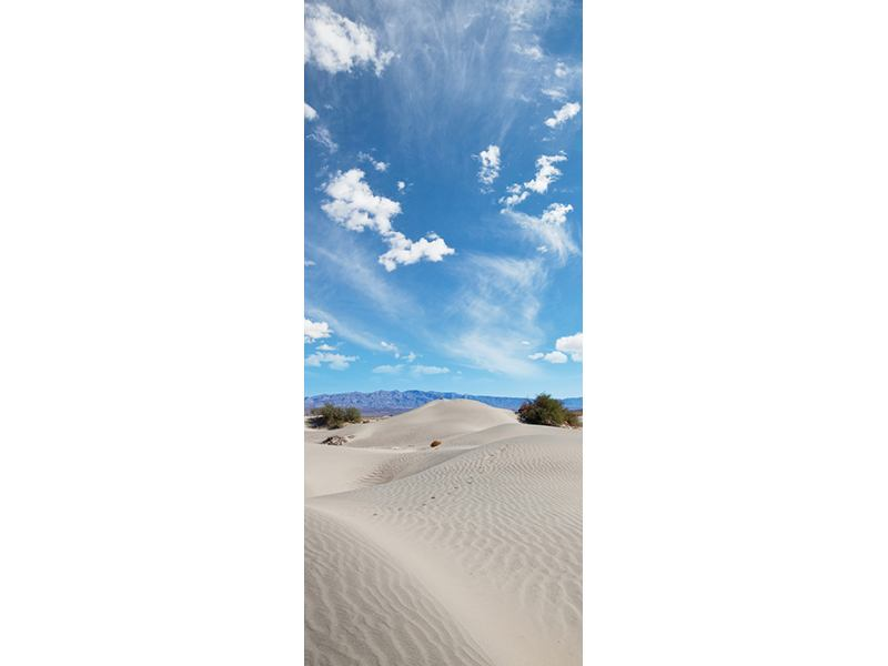 Türtapete Wüstenlandschaft