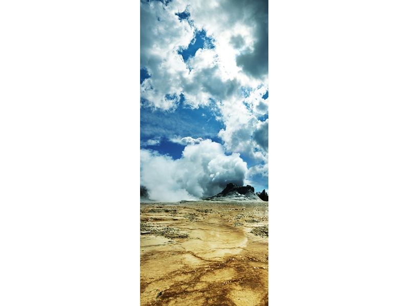 Türtapete Vulkanlandschaft