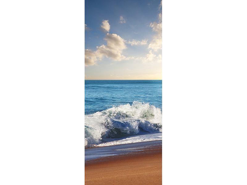 Türtapete Die Wellen des Meeres