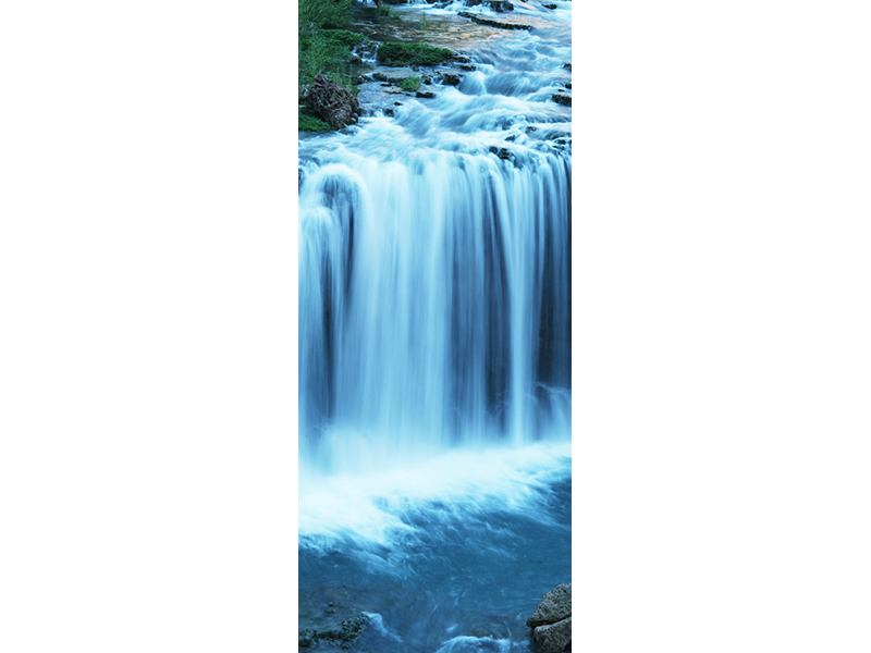 Türtapete Am Wasserfall
