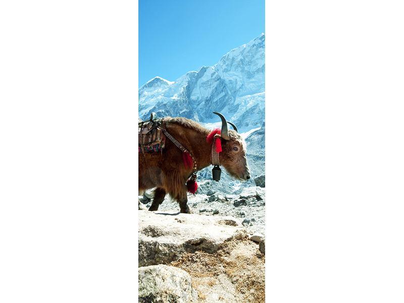 Türtapete Das Himalaya-Gebirge