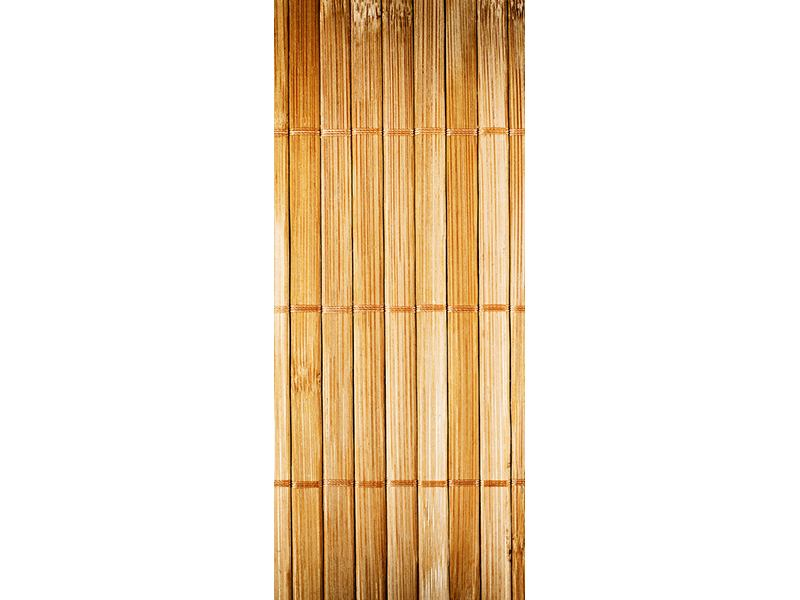 Türtapete Bambusrohre