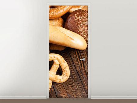 Türtapete Brot und Bretzel