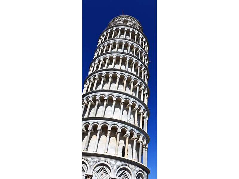 Türtapete Der schiefe Turm von Pisa