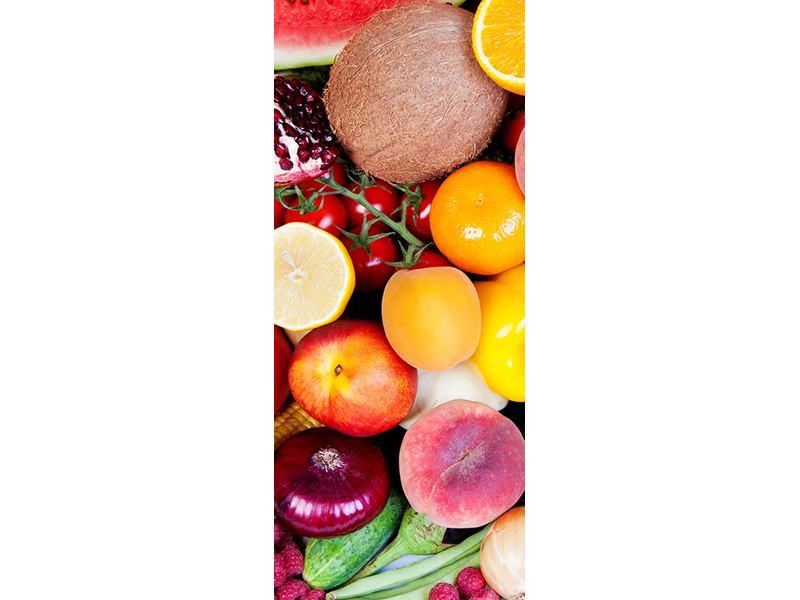 Türtapete Frisches Obst