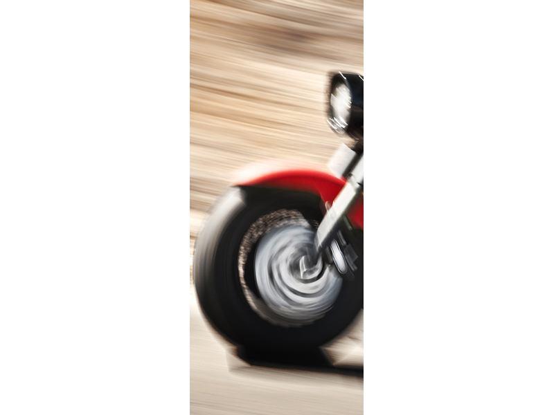 Türtapete Biker
