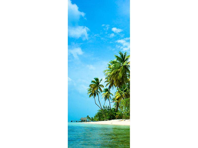 Türtapete Reif für die Ferieninsel