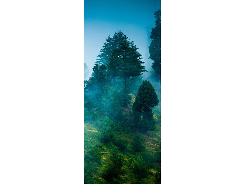 Türtapete Geheimnisvoller Wald