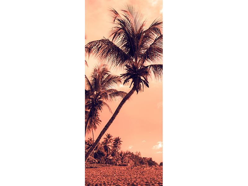 Türtapete Tropenparadies