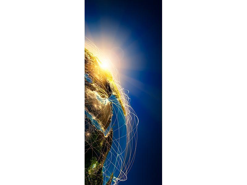 Türtapete Der Planet Erde