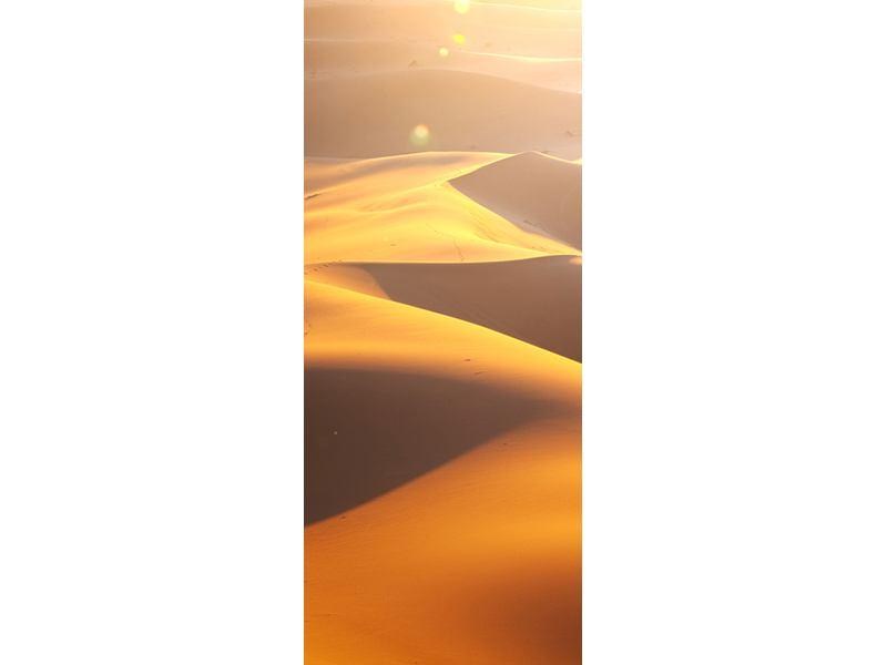 Türtapete Wüstenwanderung