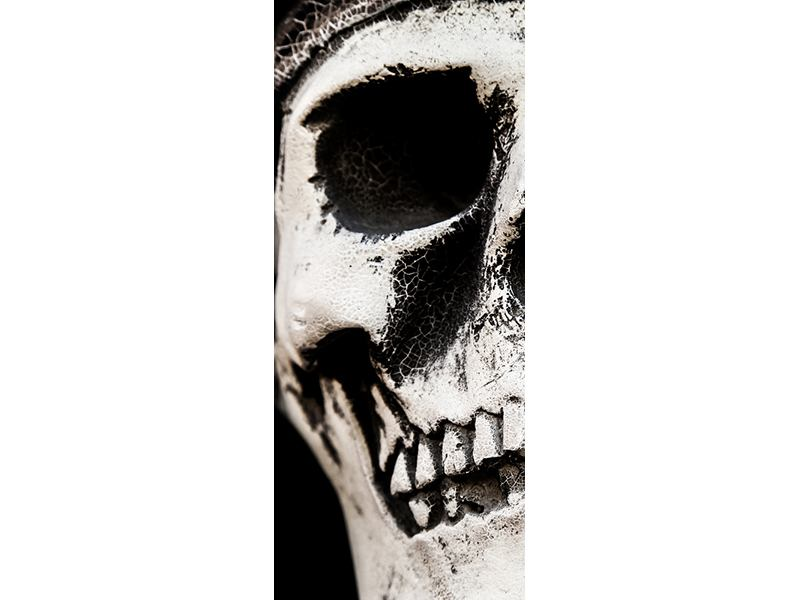 Türtapete Skull